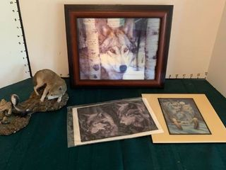 Wolf related items