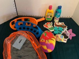 Children s bath toys and supplies