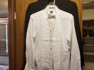 Men s tux  cumberband and tie size medium