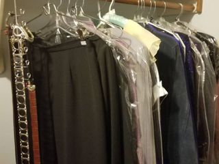 ladies dresses  suits and belts size 12 and medium