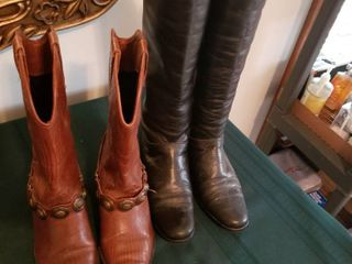 Women s boots 2 pairs size 5 1 2 and 6