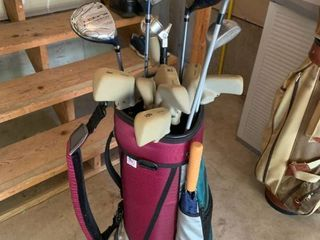 Set of golf clubs  Some king Cobra