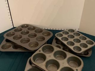 Cupcake baking dishes