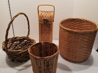 Set of 4 baskets
