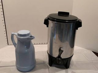 Coffee pot and coffee pitcher