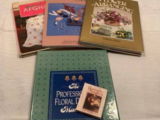 Assorted craft books