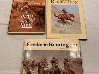 Books about the old west and Frederic Remington