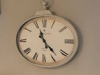 large wall clock approximately 3 feet