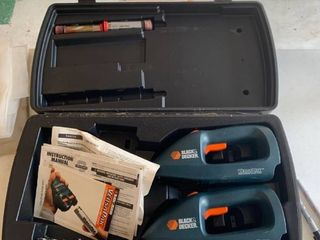 Black   Decker versa pack edger and trimmer