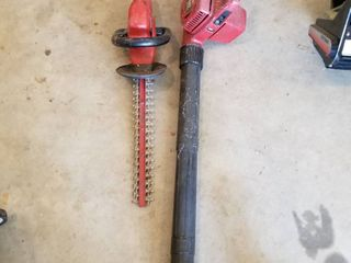 Toro blower and Craftsman Trimmer