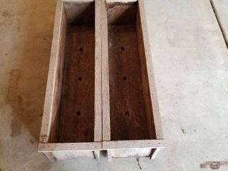 Set of two planting boxes