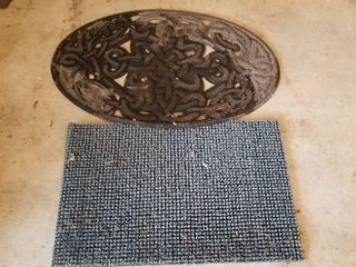 Set of 2 outdoor mats