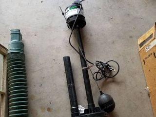 Sump pump 1 3 horse power