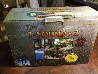 T Sound x 2 new in box