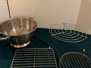 Strainer and cooling racks