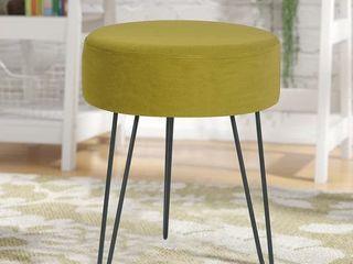 Adeco 13  Velvet Ottoman Footstool