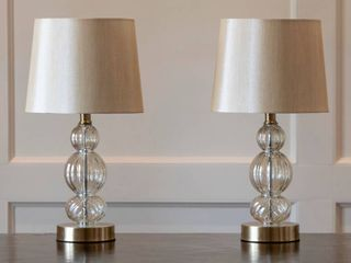 Joan Table lamps with USB Ports  set of 2