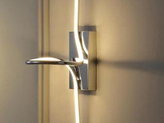 Sketch 9  Modern Metal Integrated lED light