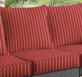 Clara Indoor Outdoor Wicker Sofa Cushion Set
