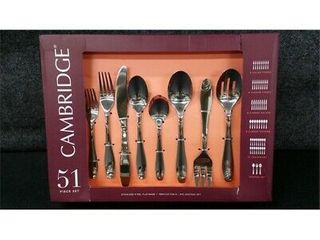 Cambridge Silversmiths Grady Mirror Stainless Steel Flatware