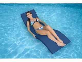 SwimWays Terra Sol Sonoma Plastic Chaise lounge   Blue