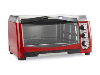 Hamilton Beach Red Ensemble 6-slice Toaster Oven w/ Broiler