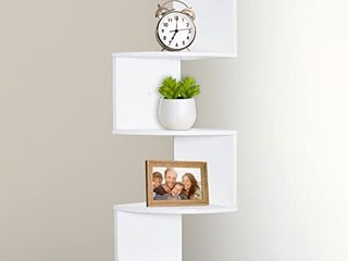 5-Tier Wall Mount Corner Shelf