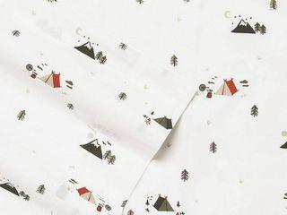 Eddie Bauer Novelty Cotton Percale Deep Pocket Bed Sheet Set   Full