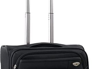 American Green Travel Carry On 17  laptop Spinner Briefcase