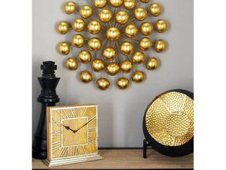 Modern 24  Ball Burst Tin Wall Sculpture