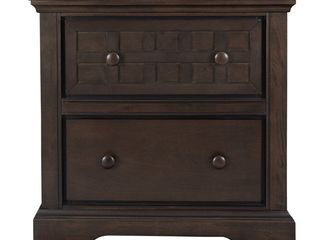 Casual Traditions Night Stand  Brown