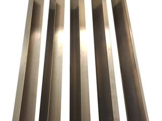 5pk Replacement long lasting Stainless Steel Burner Covers
