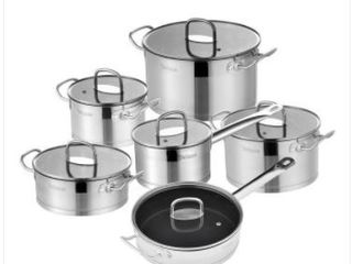 Velaze Stainless Steel Pots and Pan  No lids