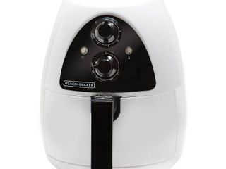 BlACK DECKER 2 1qt Air Fryer   White HF100WD