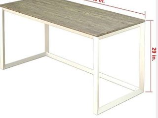 SHW Artwork Desk with Triangle leg