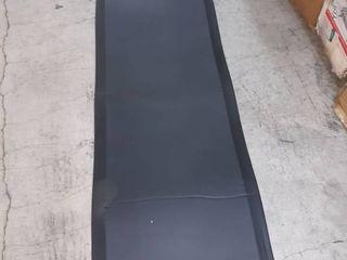 70 x 24 inch black floor mat