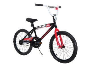 20  Magna Boy s Throttle Bike  Black Red