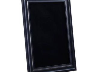 linon Black Frame Chalkboard  24 x 30