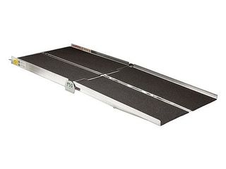 Prairie View Industries WCR830 Portable Multi fold Ramp  8 ft x 30 in