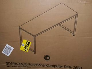 Sofsys MultiFunctional Computer Desk 1660