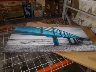 40 x 20  Boardwalk Canvas