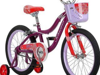 Schwinn Elm Girl s Bike With Smartstart  18  Wheels  Purple