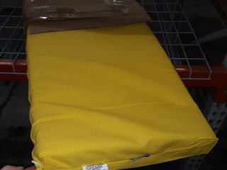 Pillow Perfect Yellow 45 x 19  bench cushion