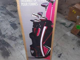 Strata 11 Piece Womens s Golf set