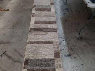 8x2  brown rug
