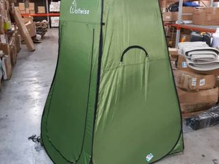 Green Wolfwise Pop up changing tent