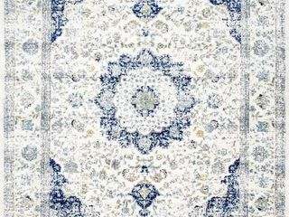 Bodrum 8x10 ft ivory blue rug style nunber  RZBD07A