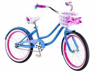 20  Girl s Sidewalk JoJo Siwa Cruiser Bike  light Blue and Pink
