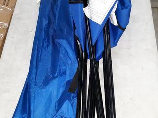 Amazon Basics folding chair Blue