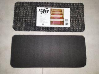 Natco Soft Step Carpet Stair Treads Navy Blue Grey 8  X 18